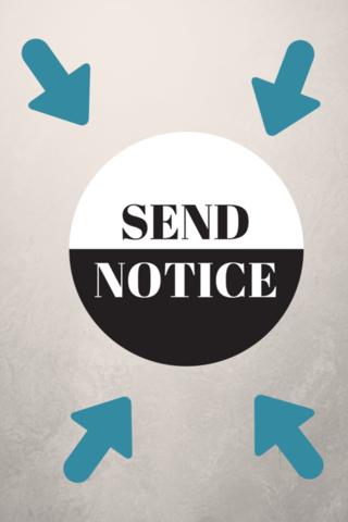 Send Notice